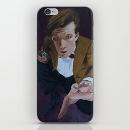 The Eleventh Doctor iPhone Skin