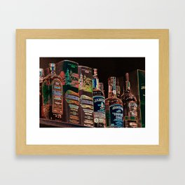 Good Irish Whiskey Framed Art Print