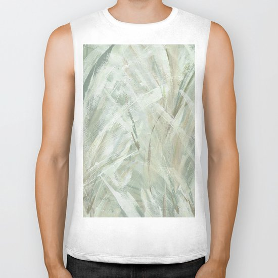 abstract brush-soothe the mood Biker Tank