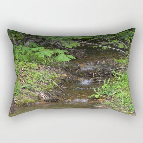 Tiny lil creek... Rectangular Pillow