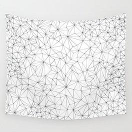 Geometric Line Art Design Wall Tapestry