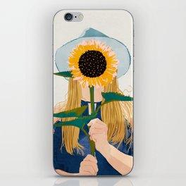 Miss Sunflower    iPhone Skin