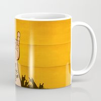 rock and roll Mugs featuring Rock & Roll by Rodrigo Molina