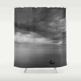 Alone Before The Storm Shower Curtain