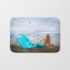 Blue Mermaid Bath Mat