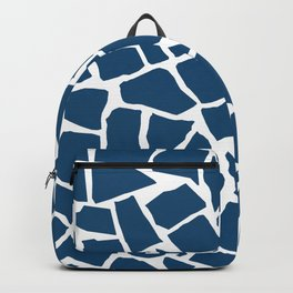 Mosaic Zoom Navy Backpack