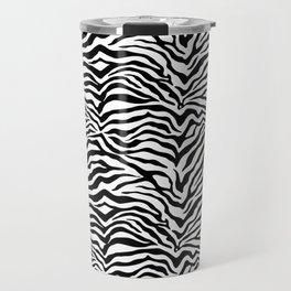 Zebra skin pattern Travel Mug