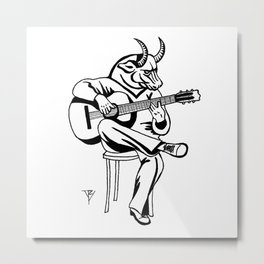 AniMusic (BULL) Metal Print