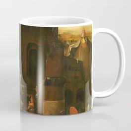 Hieronymus Bosch Verzoeking van de Heilige Antonius de Grote van Egypte Coffee Mug