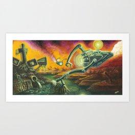 """Saviors"" by Adam France Art Print"
