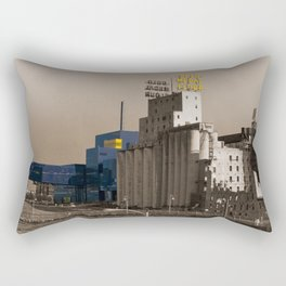 Old and New Rectangular Pillow