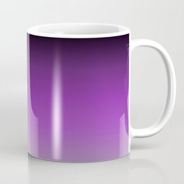 Dark Purple Ombre Coffee Mug