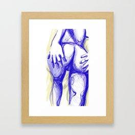 erotic Framed Art Print