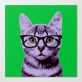 Warhol Cat 3 Canvas Print