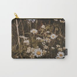 Vintage Wildflowers Carry-All Pouch