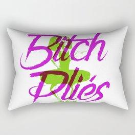 Bitch Plies Rectangular Pillow