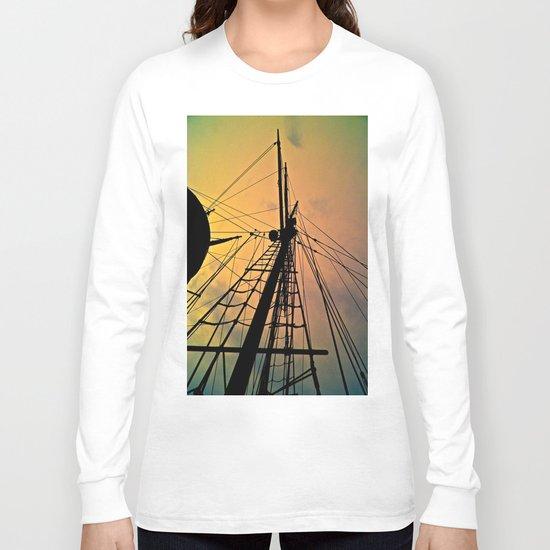 We Sail at Dawn Long Sleeve T-shirt