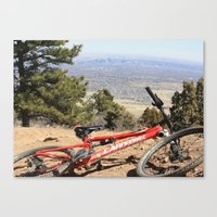 denver Canvas Prints featuring Denver by Chris Root
