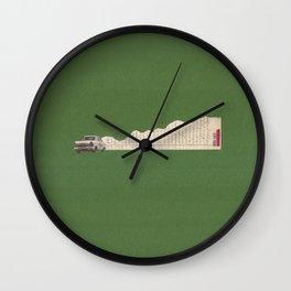Torn Around - Racing Car Wall Clock
