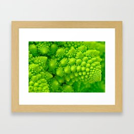 Broccosaurus Framed Art Print