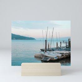 Sausalito Harbor Mini Art Print
