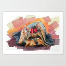 Yorkshire Art Print