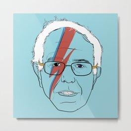 Blue Bernie Sanders 2016 Metal Print