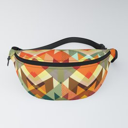 Abstract geometry Fanny Pack