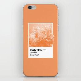 Pantone Series – Coral Reef iPhone Skin