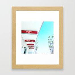 Long Beach,CA Airport Framed Art Print