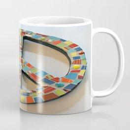 Fiesta Peace Sign Coffee Mug