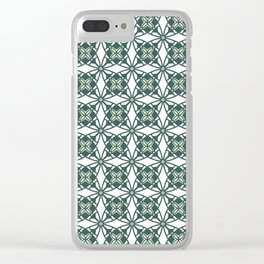 Green Gables Clear iPhone Case