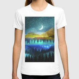 Silent Forest Night T-shirt