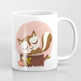 Sleeping Squrrel - Cute Animals Coffee Mug