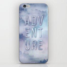 Adventure Typo iPhone Skin
