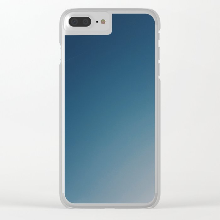 GRADIENT SKY Clear iPhone Case