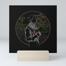 BTS JUNGKOOK WITH KOREAN TRADITIONAL SCENERY Mini Art Print