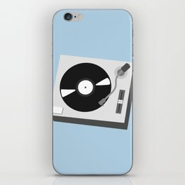 Turntable Illustration iPhone Skin