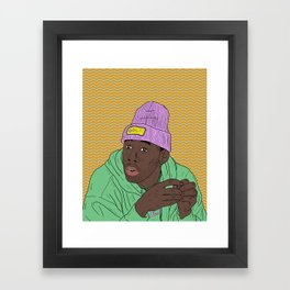 Tyler The Creator Framed Art Print