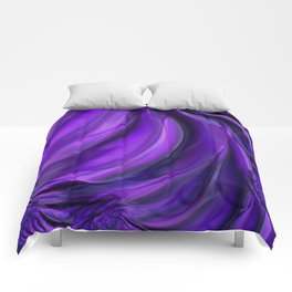 Purple Drapes Comforters