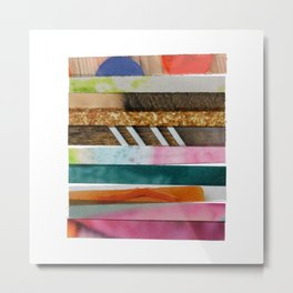 I'm all MIXED UP. Metal Print