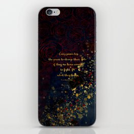 Carval (Fight for what they desire) iPhone Skin