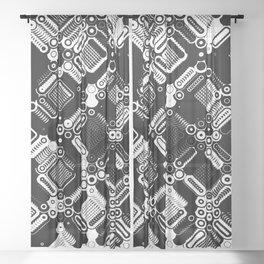 11 Max pro 45 degree Sheer Curtain
