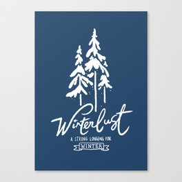winterlust Canvas Print
