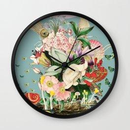 Midnight in the Octopus's Garden Wall Clock