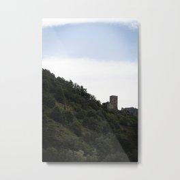 European Castle Metal Print
