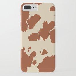 Boho Cow Pattern iPhone Case