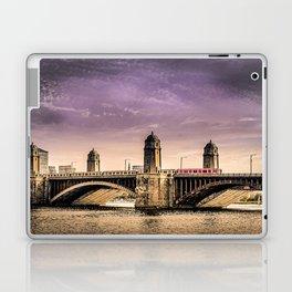 Longfellow Bridge, Boston MA Laptop & iPad Skin