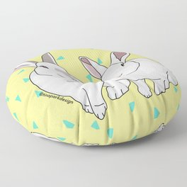 Lulu and Max Floor Pillow