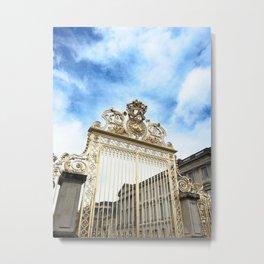 Golden Gate, Blue Sky. Metal Print